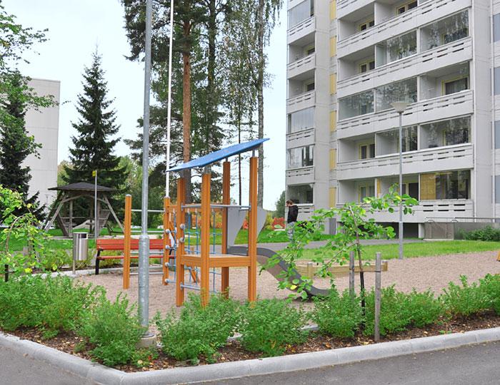 Ympäristörakentaminen-piha-alue